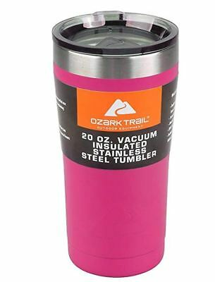 Ozark Trail 20 Oz Double Wall Vacuum Sealed Tumbler Thermos Mug For Hot & Cold