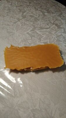 Beeswax - 3/4 pound bar - Filtered Organic Pure Yellow Bees wax Cosmetic Grade