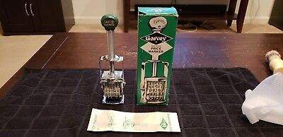 NEW IN BOX Vintage grocery store Garvey Supreme Big Wheel price marker S-185