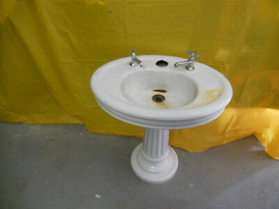 Vintage Cast Iron Barbers Sink