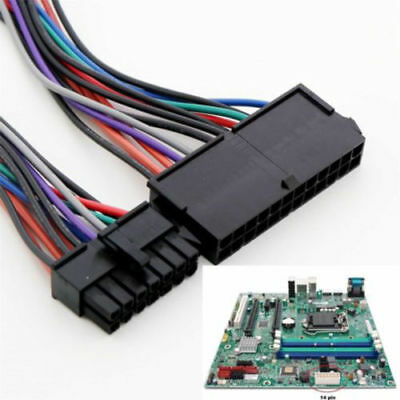 ATX 24 pin to 14 pin Adapter Cable Power Supply Cable Cord For Lenovo IBM UK FF