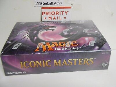 ( Ship Now) MTG Magic the Gathering Iconic Masters Sealed Booster Box  - 24 Pack