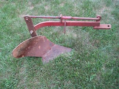 Vintage Wheel Horse ? Tractor Single Bottom Plow Attachment