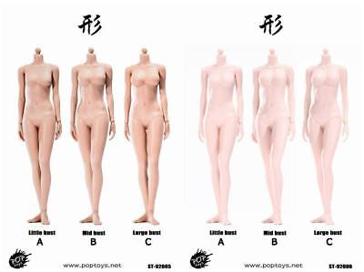 POPTOYS 1/6 Suntan Pale 3 Breast XING Series Flexible Female Body 92005 92006