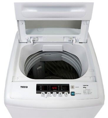 Teco TWM60TBM 6kg Top Load Pulsator Washer - FREE DELIVERY NSW ONLY