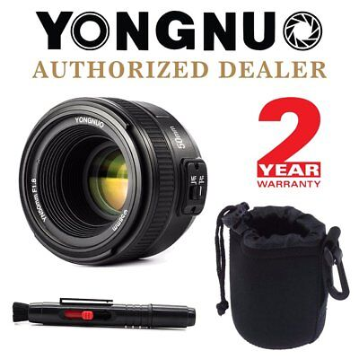 Yongnuo YN 50mm F1.8 Auto Focus Fixed Prime Lens for Nikon DSLR + Pen & Pouch IT