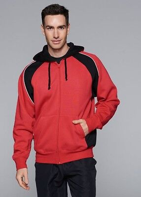 NEW! Aussie Pacific Mens Panorama Contrast Zip Hood 1511 ALL COLOURS S-3XL + 5XL