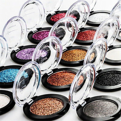 Pudaier Glitter Eyes Eye Shadow Pigment Make up Eyes Face 5g Shimmer Eyeshadow