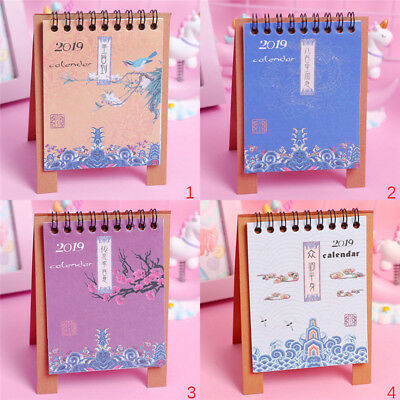 2019 Cute Cartoon Calendar Weekly Monthly Planner To Do List Table Calendar CH