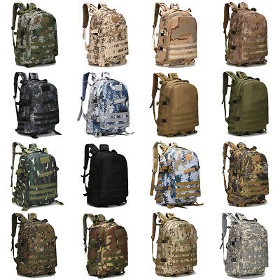 40L 3D Outdoor Sport Military Tactical climbing mountaineering Backpack Camping