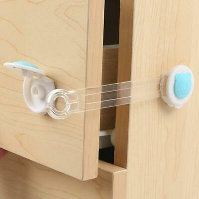 Adhesive Child Kid Baby Safety Lock For Door Fridge Drawers Cupboard Cabinet  YU