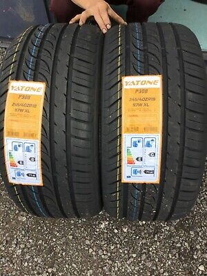 New 2 X 245 40 Zr18 97W Xl Haida Hd927 New Tyres Amazing Wet Grip B -2454018 New