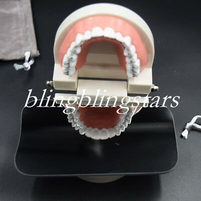 1 Pcs Dental Orthodontic Photography Occlusal 2 Side Photographic Glass Mirror