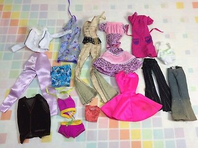 Barbie And Other Doll Clothes 90s Newer Shirts Fashion Clothing Mattel Vtg Lot