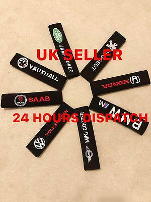 Seat Belt Cover Pad All Car Makes & Models - vauxhall audi bmw volvo seat fiat
