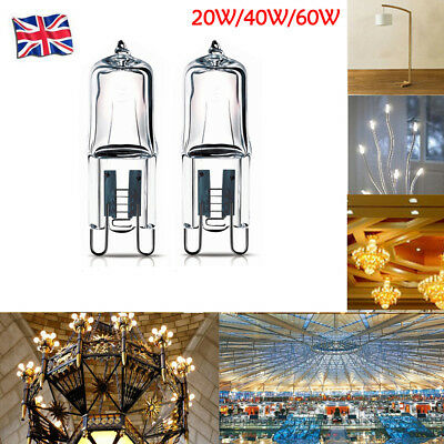 1X/10X G9 Halogen Capsule Light 20W 60W 40W 220V Energy Saving Clear Bulbs