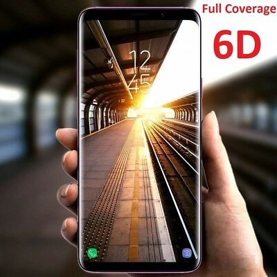 6D Samsung Galaxy S10 5G S9 S8 Plus Note 9 8Full Tempered Glass Screen Protector