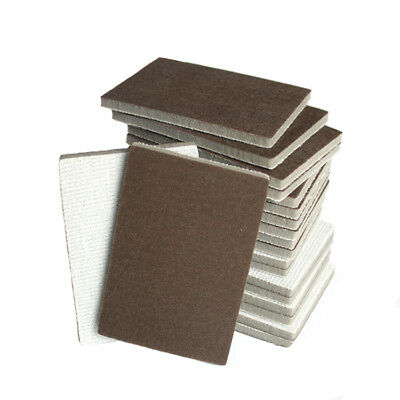 70×100mm Wet Dry Sponge Sanding Block 300~1500 Grit Hook Loop Sandpaper Pads