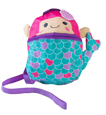 RedKite Toddlers Pretty Mermaid Back Pack with Detachable Walking Reins