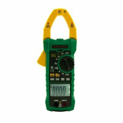 MASTECH MS2115A True RMS AC DC Clamp Meter Non-Contact Voltmeter Function 1 6F22