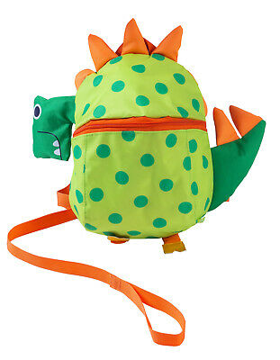 RedKite Toddlers Cute Dinosaur Back Pack with Detachable Walking Reins
