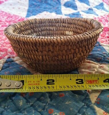 Native American Indian Miniature Basket