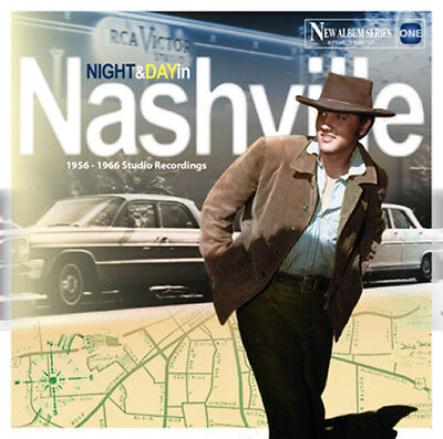 Elvis Presley - NIGHT AND DAY IN NASHVILLE - ELVIS ONE SERIES - CD NEW & SEALED