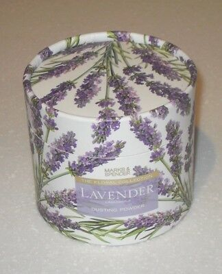 "M&S MARKS & SPENCER  ""LAVENDER"" PERFUMED DUSTING POWDER 75 gr NEW"