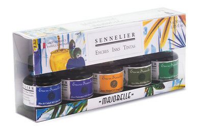 Sennelier Artist Drawing Ink Majorelle Colours Gift Starter Set 5 x 30ml