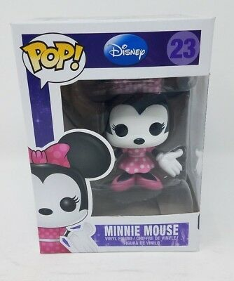 Funko Pop! Disney Minnie Mouse 23 Vinyl Figure Figurine New In Box Series 2 Walt