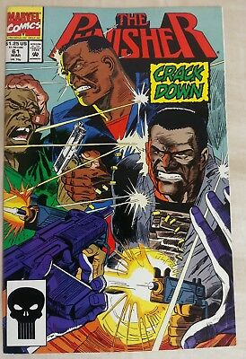Punisher #61 First Print Marvel Comics (1992) Luke Cage