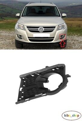 Front Bumper Fog Light Grille Right Fits VW Tiguan 2011-2016