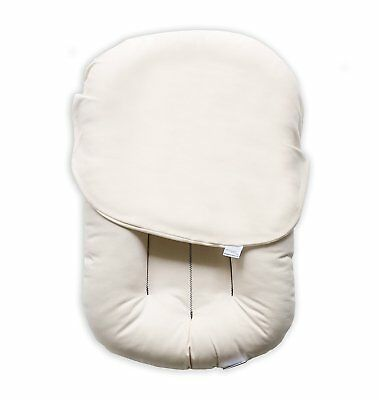 Snuggle Me Organic Patented Sensory Lounger for Baby organic cotton