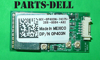 NEW GENUINE Dell Latitude E6400 Ethernet LAN Audio USB Board P//N J238N
