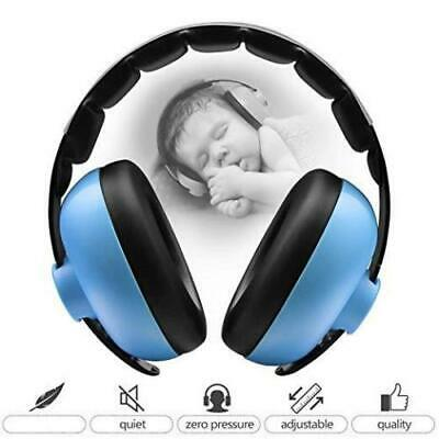 Blue Children Baby Ear Muffs Hearing Protection Earmuffs Noise Reduction Child