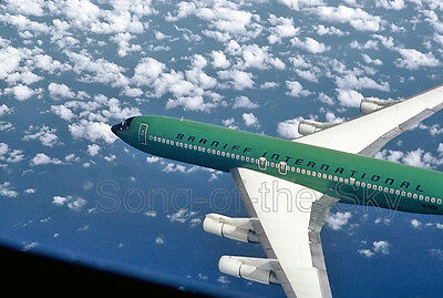 "Braniff Airways Boeing 707-327C ((8.5""x11"")) Print"