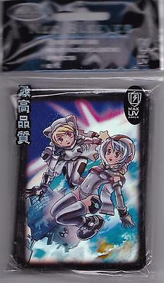 Space Girls Deck Protector Card Sleeves For Mtg Pokemon