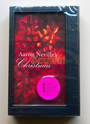 DCC Digital Compact Cassette Tape - Aaron Neville's Soulful Christmas