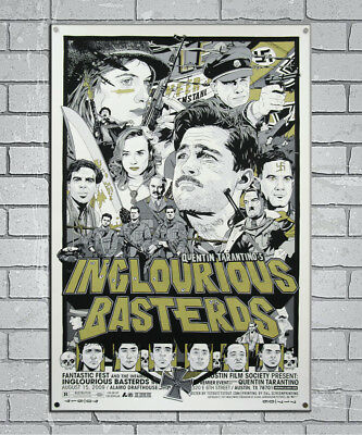 P-342 Art Inglourious Basterds Quentin Tarantino Hot Movie LW-Canvas Poster 36in