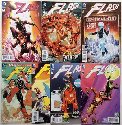 The Flash #41,42,43,44,45,46 & 47 (DC New 52 2015) 7 x high grade. Some variants