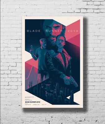 P-27 Art Blade Runner 2049 Harrison LW-Canvas Poster 21 24x36in