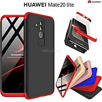 COVER per Huawei Mate 20 Lite CUSTODIA Fronte Retro 360° ORIGINALE ARMOR CASE