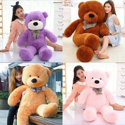 Large Teddy Bear XXL Giant Teddy Bears Big Soft Plush Toys Kids Xmas Gift