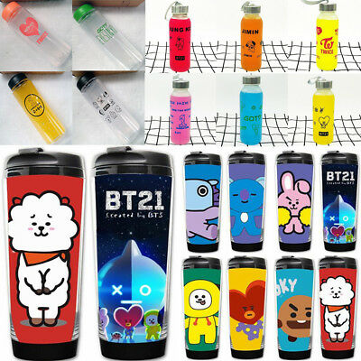 KPOP BTS Water Bottle Bangtan Boys Drinking Cup JUNGKOOK JIMIN  V GOT7 TWICE