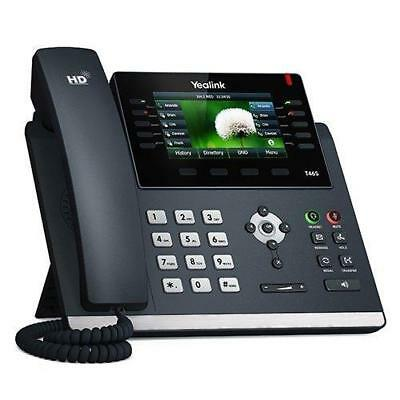 Yealink SIP-T46S Ultra-Elegant Gigabit IP Phone, 10 Line Keys Can Be...