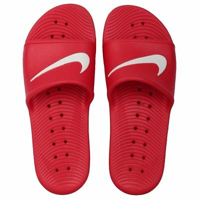 4a71bede1 NIKE KAWA SHOWER Slide   832528 600 Red White Men SZ 8 ! -  22.00 ...