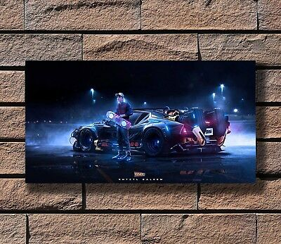 P954 Art Back to the Future 1 2 3 Movie Poster Hot Gift 14x21 24x36