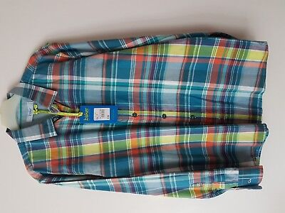 New With Tag Ted Baker Boys Check Shirt Age 13 Years