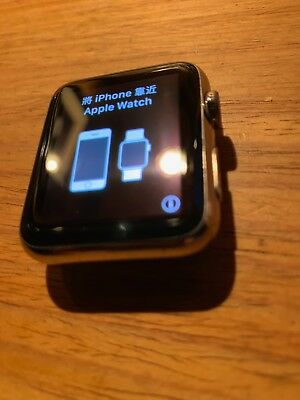 Apple Watch Original Stainless Steel 42mm Sapphire Crystal New White Sports Band
