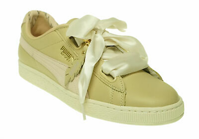 on sale 53dad 229c5 PUMA BASKET HEART Bauble FM Casual Sneakers Silver - Womens ...